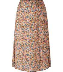 lång kjol med blommönster