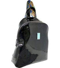 mochila negra leblu