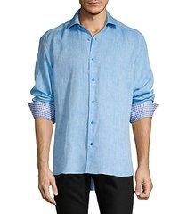 edoardo linen sport shirt