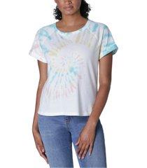 ultra flirt juniors' tie-dye t-shirt