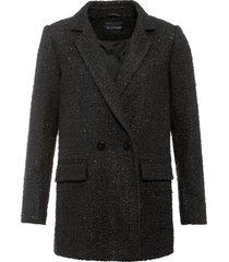 blazer in tweed (nero) - bodyflirt
