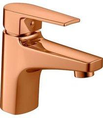 misturador monocomando para banheiro mesa level red gold bica baixa - 2875.gl26.rd - deca - deca