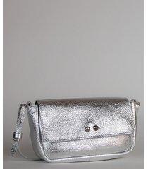 torebka skórzana silver pick