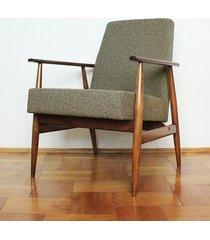 fotel lisek prl, fotel 300-190, po renowacji