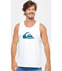 regata quiksilver logo masculina
