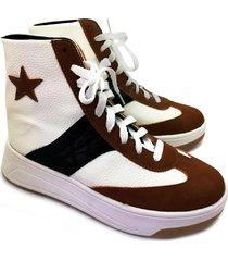 zapatilla blanca abryl calzados star