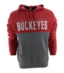top of the world ohio state buckeyes men's promo hooded sweatshirt