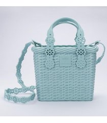 cartera lace bag x viktor and rolf casual verde melissa