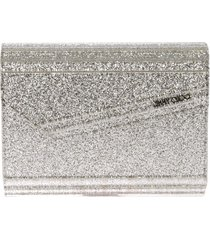 jimmy choo 'champagne' clutch - metallic
