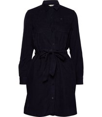 shirt dress korte jurk blauw lee jeans