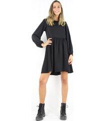 vestido alicia negro jacinta tienda