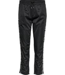 women padma cropped pants sweatpants mjukisbyxor svart fila