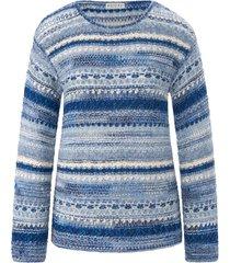 trui met ronde hals en lange mouwen van portray berlin multicolour
