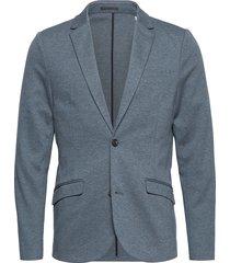 knitted blazer blazer kavaj blå lindbergh