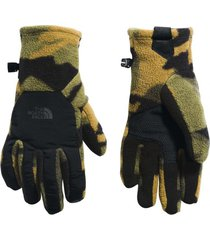 guantes denali etip verde the north face
