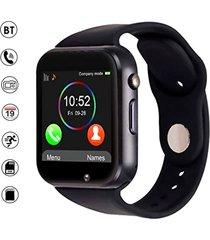 smartwatch reloj inteligente a1 android negro