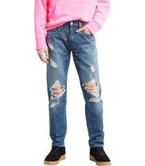 calça jeans levis 502 regular taper masculina