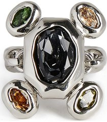 women's alexis bittar future antiquity byzantine stone cluster ring