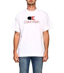 calvin klein t-shirt t-shirt with maxi calvin klein vintage print