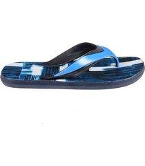 sandalia flip flop estampada para hombre 04386