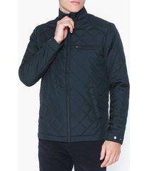 selected homme slhjason quilted jacket w jackor mörk blå