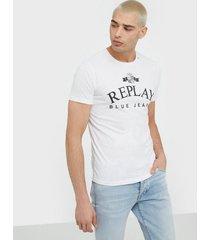 replay m3033 t-shirt t-shirts & linnen white