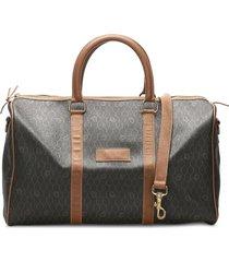 christian dior pre-owned honeycomb travel bag - black