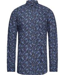8208 - iver skjorta casual blå sand