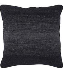 almofada kilim fields degrade black - 56x56