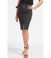 jeansowa spódnica bodycon