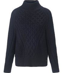 trui lange mouwen en staande halsboord van joop! jeans blauw