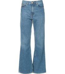 wide leg jeans l32 ninette  blauw