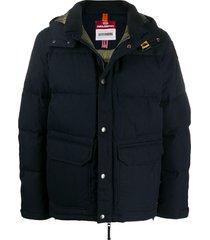 parajumpers berkeley padded jacket - blue