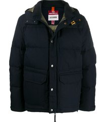 parajumpers berkeley padded jacket - blue