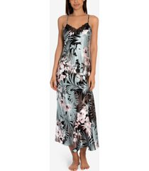 linea donatella nohea tropical-print nightgown