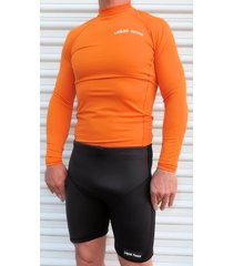 "men's 2mm neoprene wetsuit shorts, superstretch, 7"" inseam, high back"