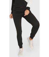 pantalón negro destino collection combinado