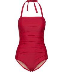 acapulco baddräkt badkläder röd scampi