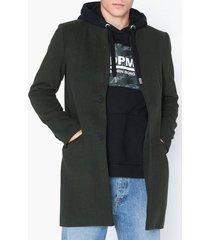 only & sons onsmaximilian wool trench coat otw jackor mörk grön