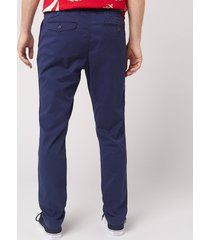 polo ralph lauren men's tapered fit prepster trousers - newport navy - l