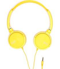 audifonos amarillos color amarillo, talla uni