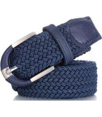 mio marion men's casual braided stretch belt