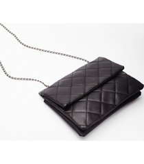 womens want call it quilts multiway crossbody bag - black
