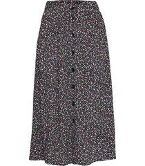 hannie knälång kjol multi/mönstrad mbym