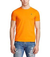 camiseta naranja-verde polo ralph lauren ssl ths