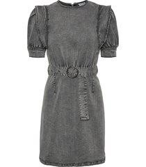 lisa dnm puff sleeve dress su032m: