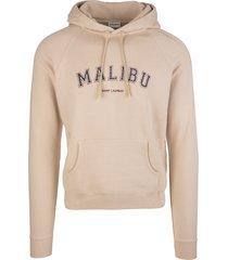 beige malibu saint laurent man hoodie