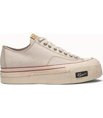 visvim sneakers skagway lo g patten colore bianco crema