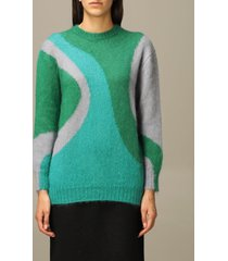 alberta ferretti sweater alberta ferretti mohair and virgin wool sweater