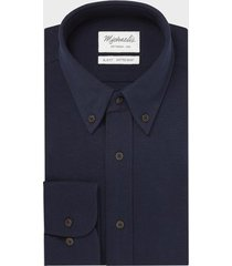 michaelis donker knitted shirt button down